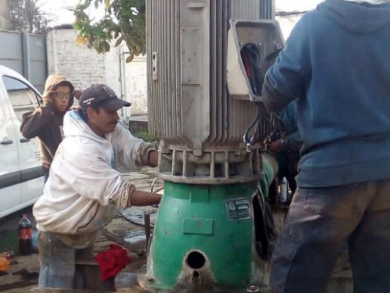 Se restablece servicio de agua en Nezahualcóyotl