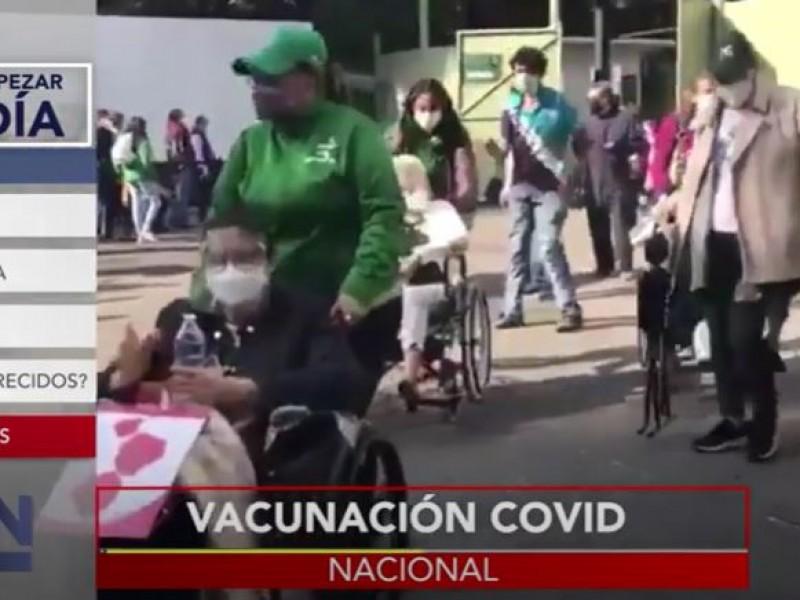 Se retoma la vacunación en la Ciudad de México