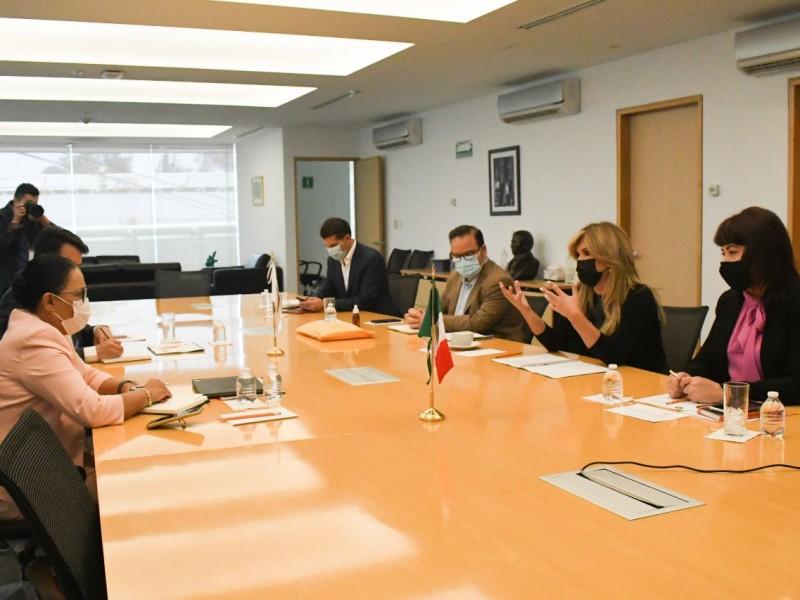 Se reúne Gobernadora Pavlovich con Secretaria de Seguridad Federal