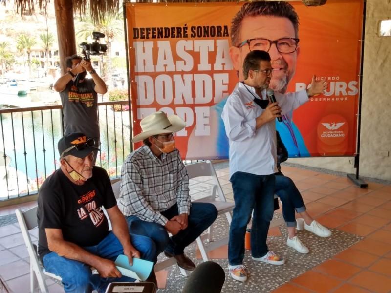 Se reúne Ricardo Bours con prestadores de servicios turísticos