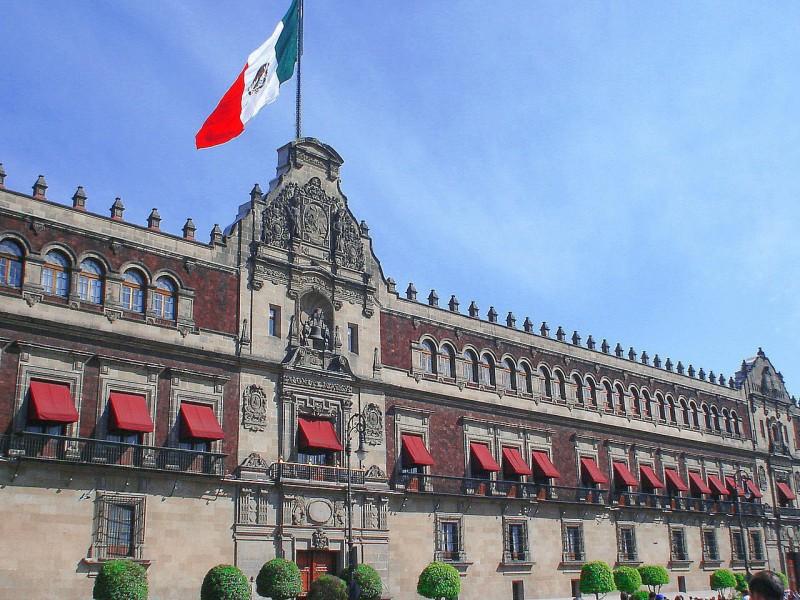 Se reúnen empresarios con AMLO en Palacio Nacional
