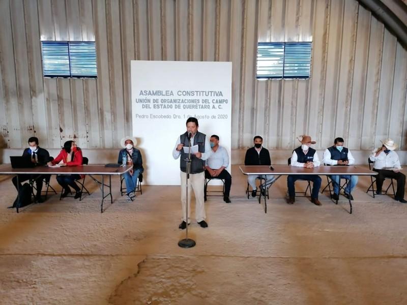 Se reúnen organizaciones del campo en Pedro Escobedo