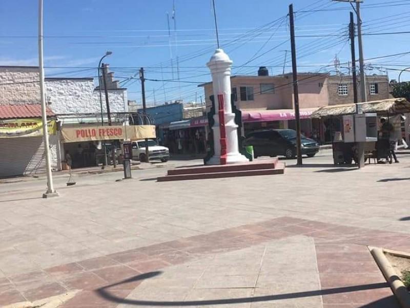 Se roban bandera de México de plaza de Matamoros