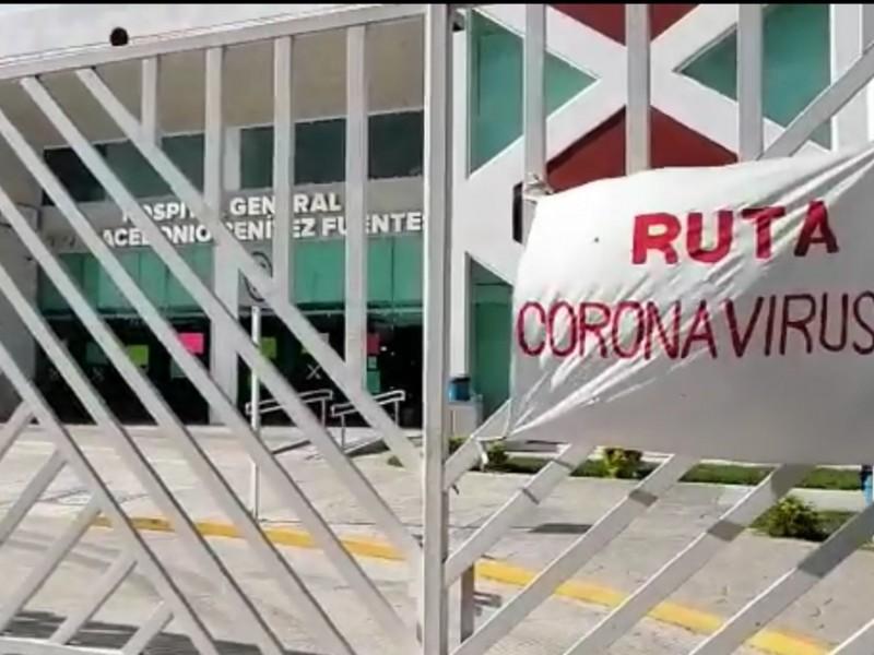 Se satura atención por Covid-19 en el hospital de Juchitán