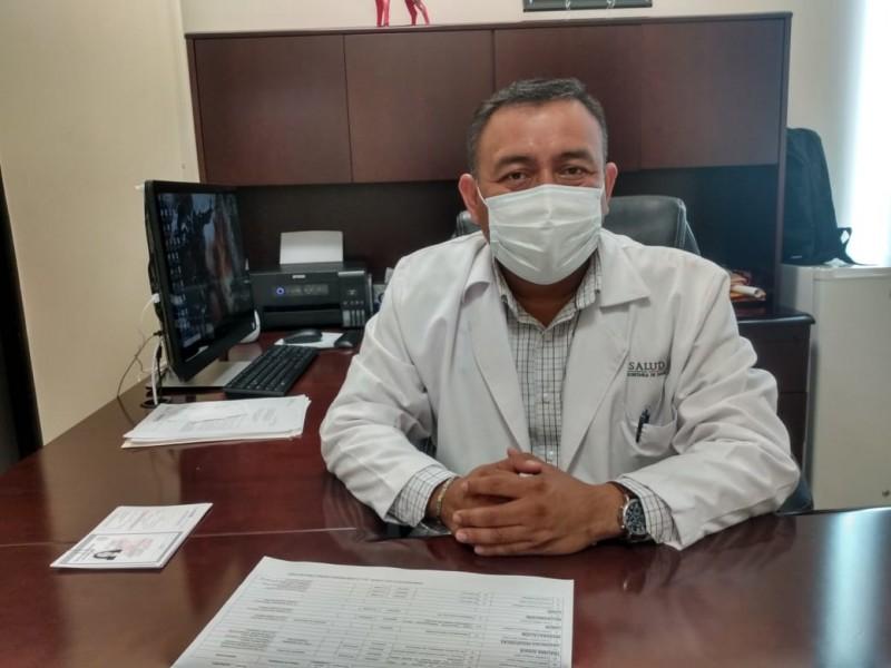 Se saturan servicios en el área Covid-19 de Juchitán