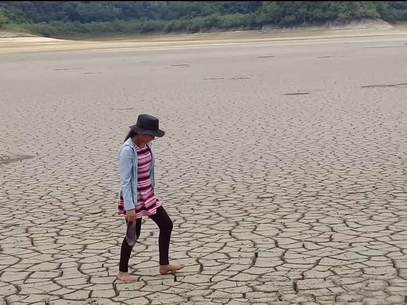 Se seca laguna Metzabok
