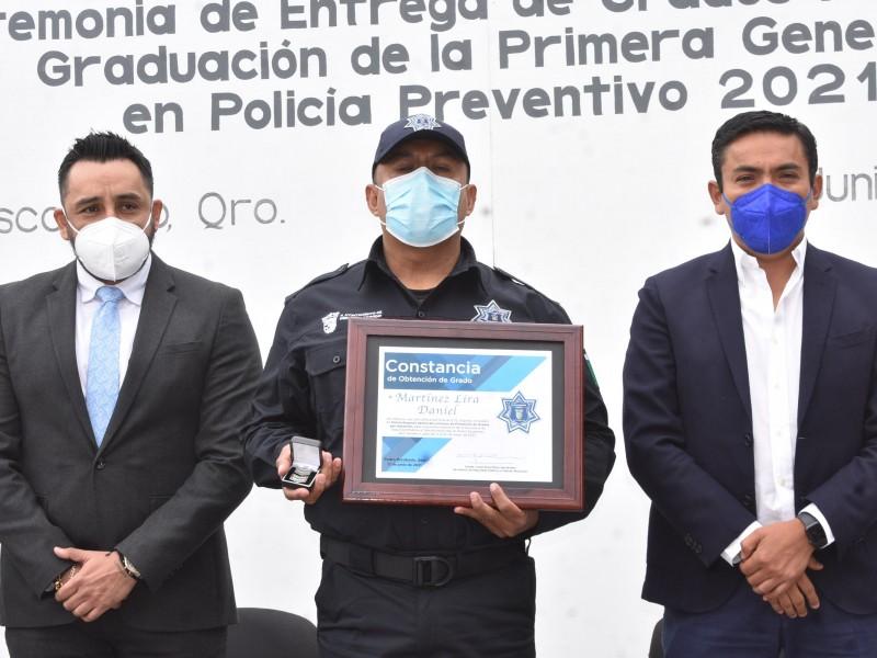 Se suman 11 policías en Pedro Escobedo