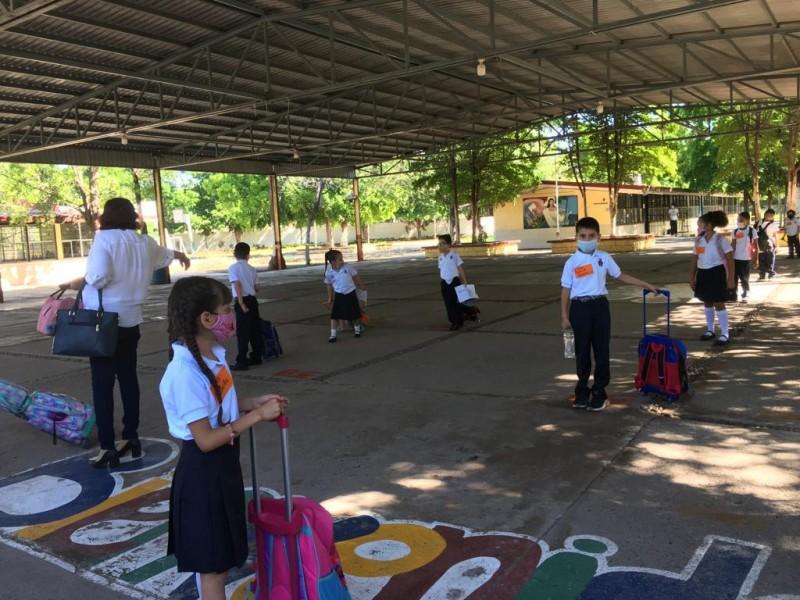 Se suman 60 escuelas a la presencialidad en Ahome