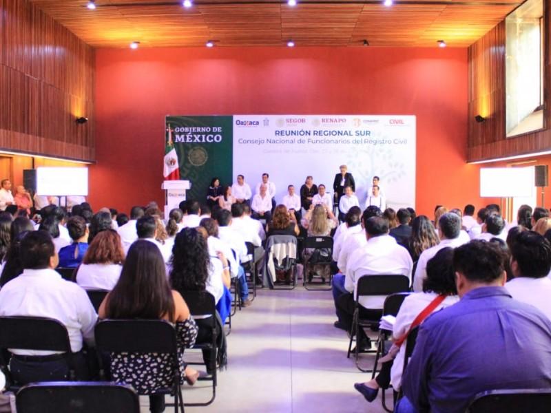 Se sumará Oaxaca a sistema biométrico de RENAPO
