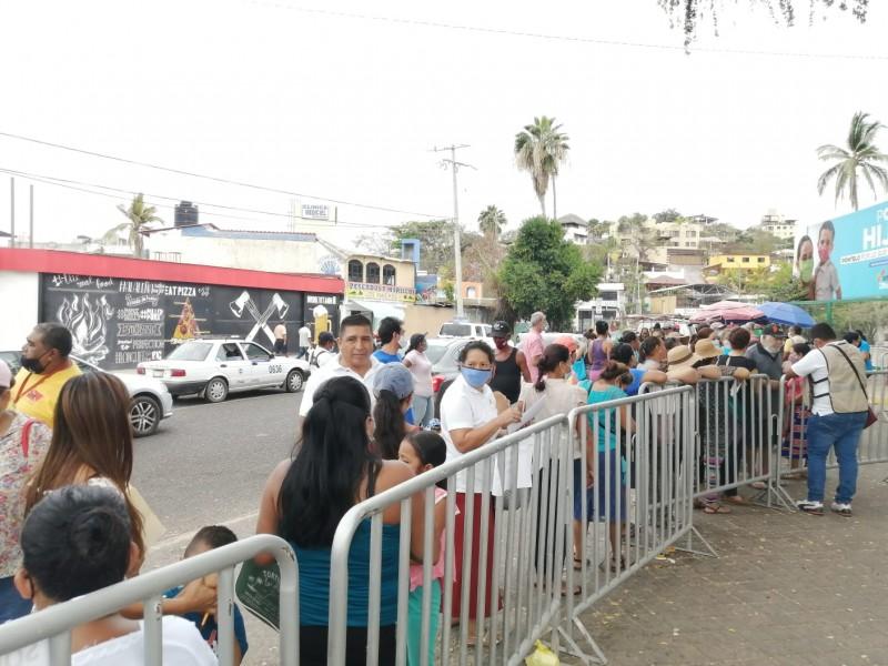 Se terminan las vacunas en Zihuatanejo; inmunizarán hasta nuevo aviso