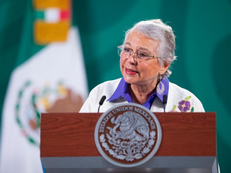 Se tiene deuda histórica con las mujeres: Sánchez Cordero