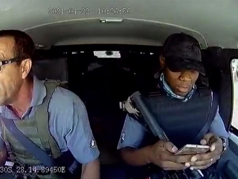 Se viraliza ataque a un carro de valores en Sudáfrica
