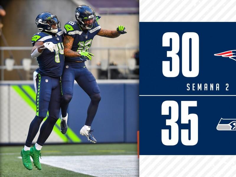 Seattle venció a Patriotas. Resumen semana 2 de la NFL.