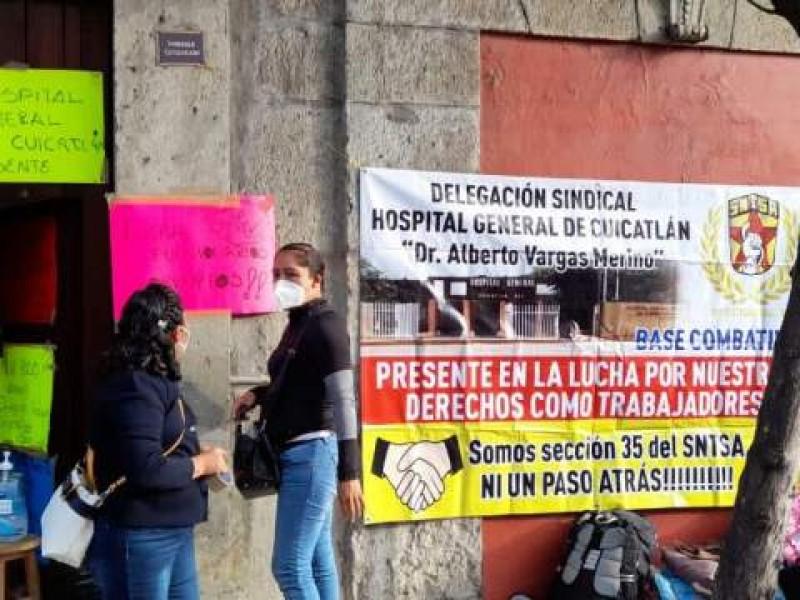 Varios hospitales sin operar por paro  de trabajadores sindicalizados