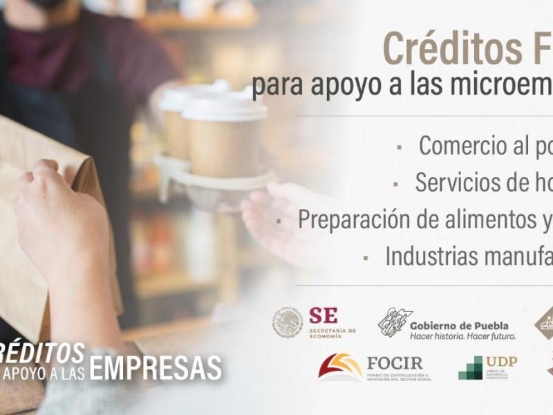 Secretaría de Economía otorga créditos a empresarios