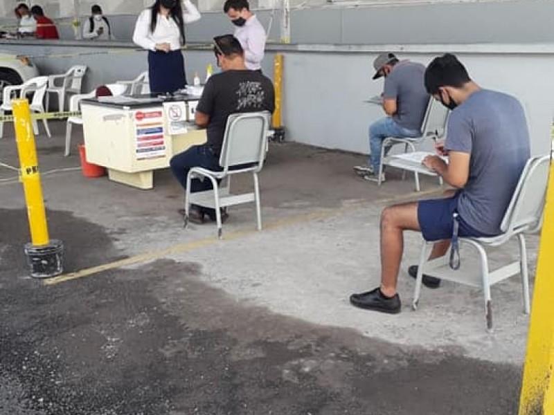 Secretaría de Movilidad se traslada al recinto ferial