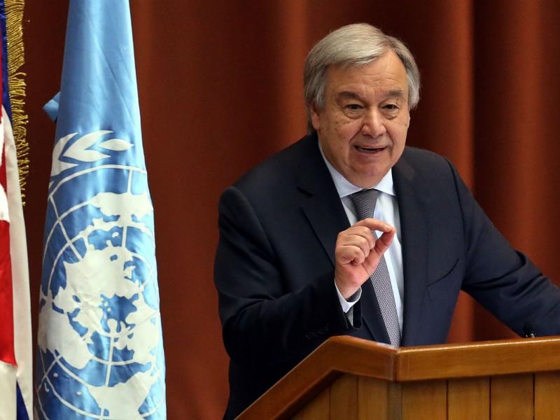 Secretario de ONU emite condolencias a Cuba