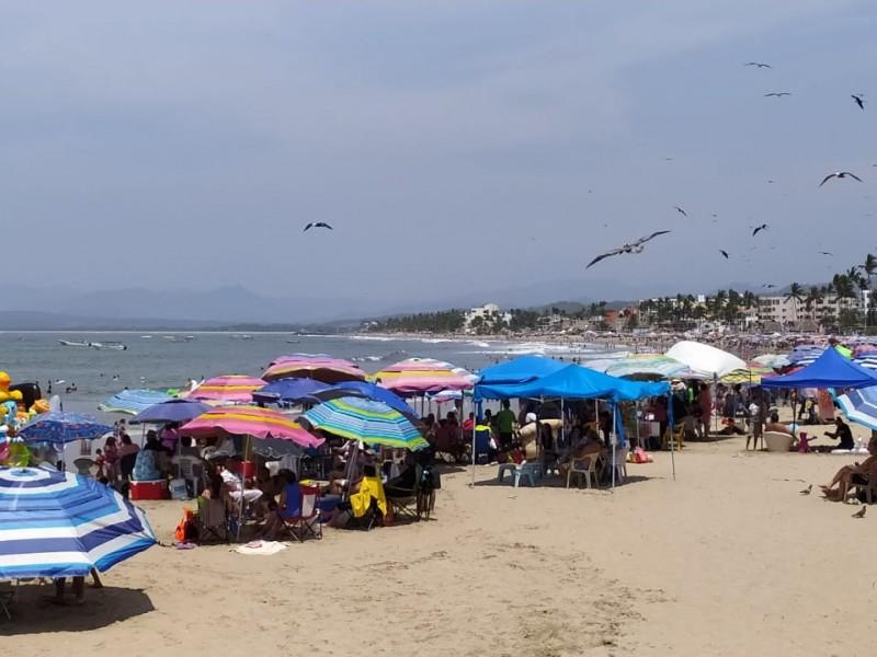 Secretario de turismo considera que no hay aglomeración en playas