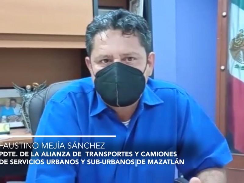 Sector camionero seguirán medidas sanitarias, sin reactivación total en Mazatlán