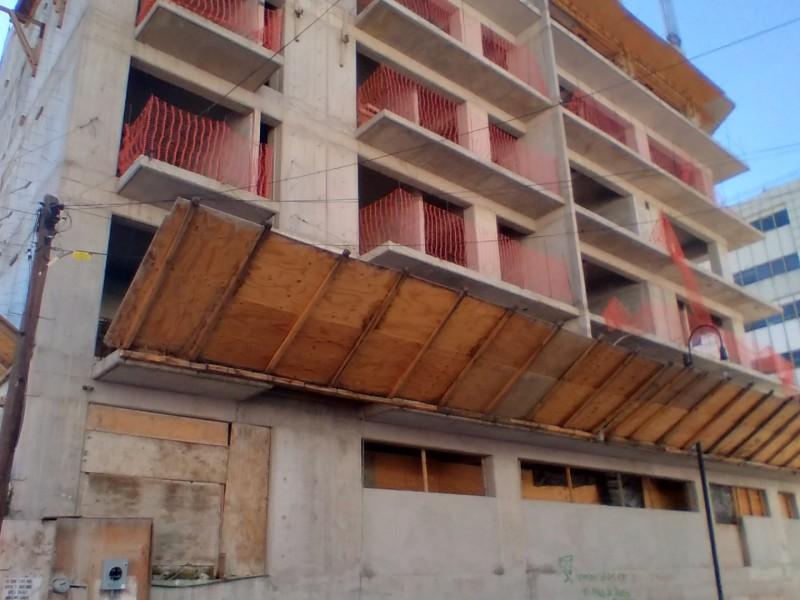 Sector de la construcción con graves pérdidas económicas