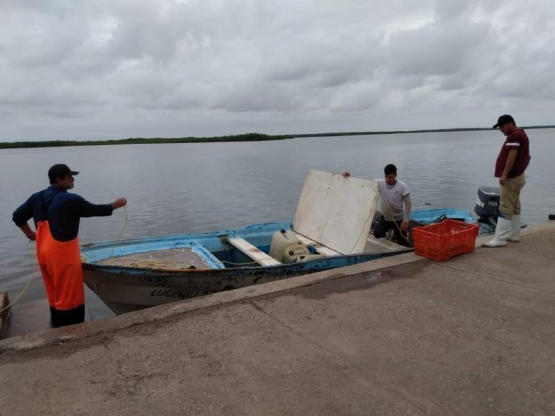 Sector pesquero se queda en espera de apoyo de