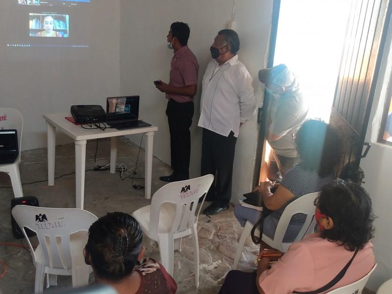 SECTUR Oaxaca capacita a restauranteros en atención a clientes Post-Covid-19