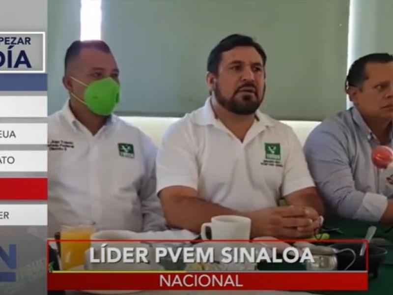 Secuestran a dirigente estatal del Partido Verde en Sinaloa
