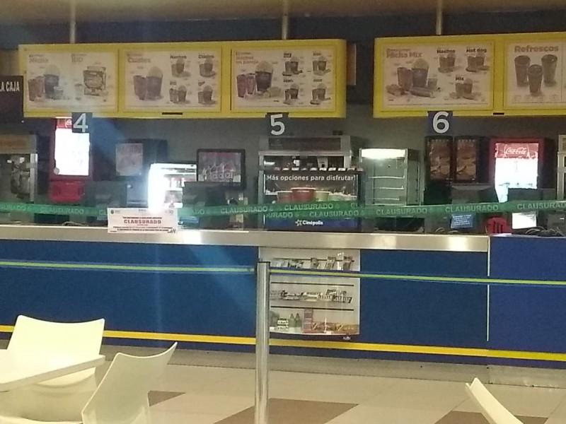 SEDEMA clausura área de dulcería en cine Tuxpan