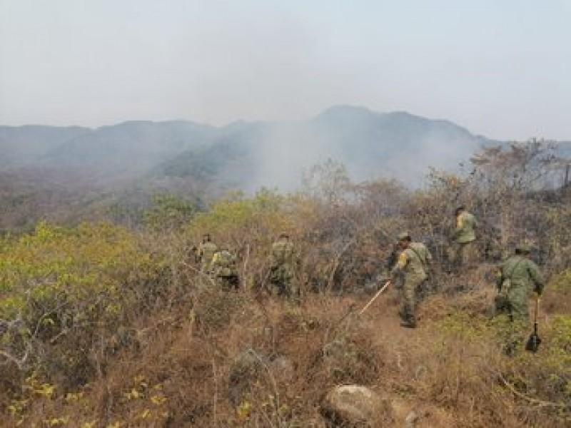 Sedena aplica Plan DNIII-E por incendios forestales en 10 estados