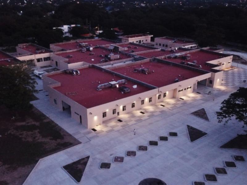 SEDENA operará el hospital de especialidades de Juchitán durante contingencia