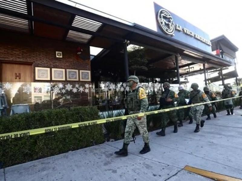 Sedena y GN custodian bar donde fue asesinado Aristóteles Sandoval