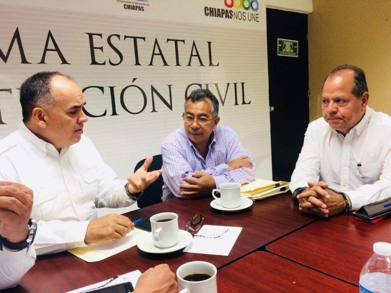 Seguimiento de reconstrucción en Chiapas
