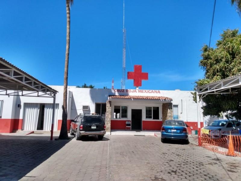 Seguirá Cruz Roja con traslados COVID, pero limitados