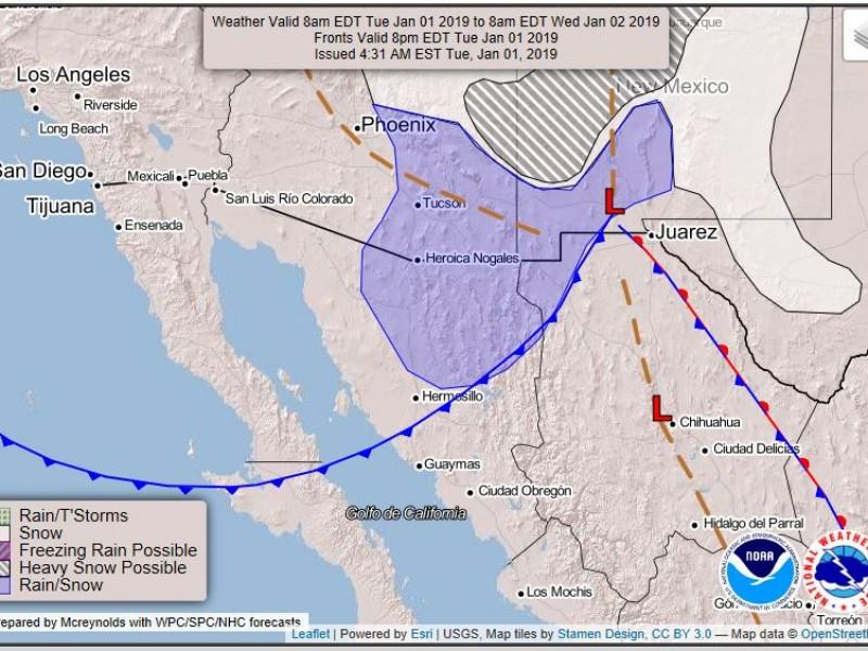 Seguirán bajas temperaturas en Sonora