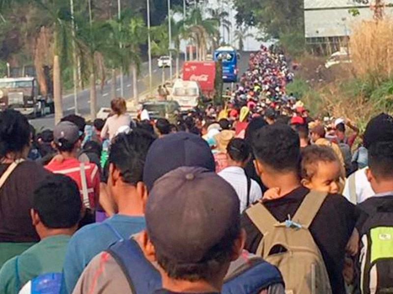 Segunda caravana de migrantes se dirige a Guanajuato