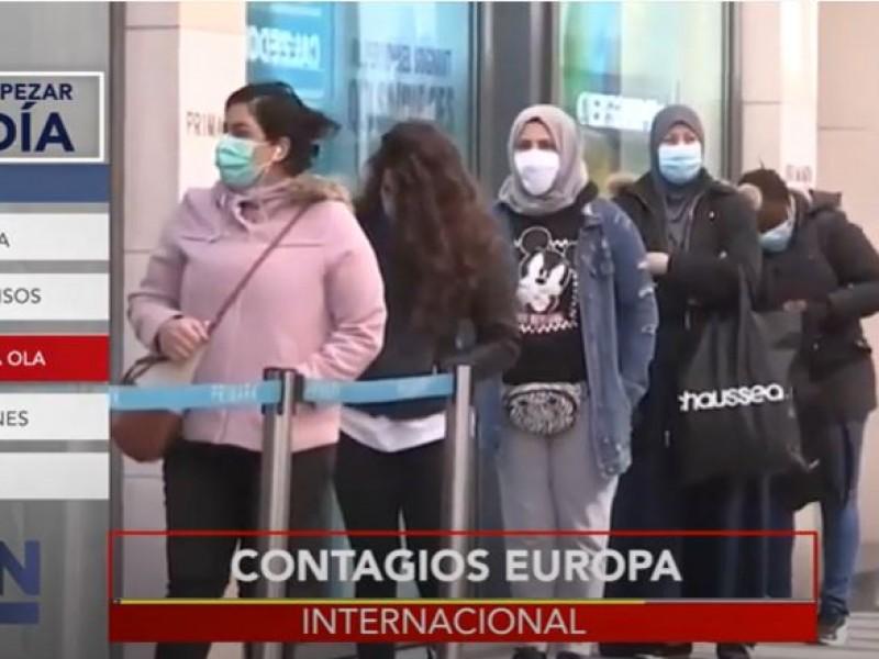 Segunda ola de covid-19 golpea a Europa