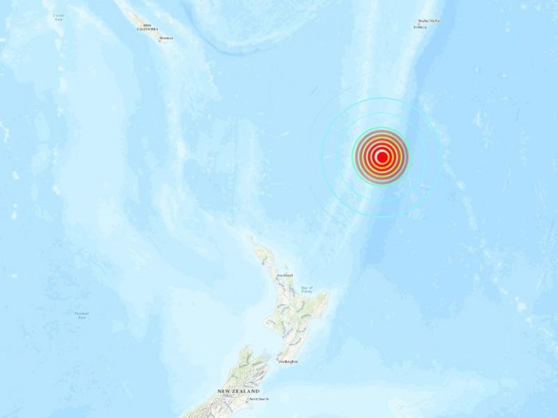 Segundo terremoto sacude Nueva Zelanda, se mantiene alerta de tsunami