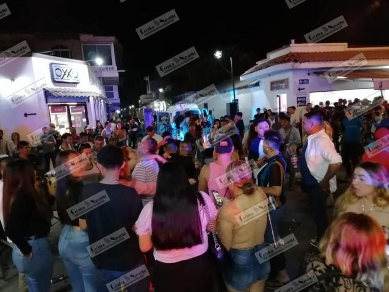 Seguridad no recibió reporte por aglomeración en San Blas