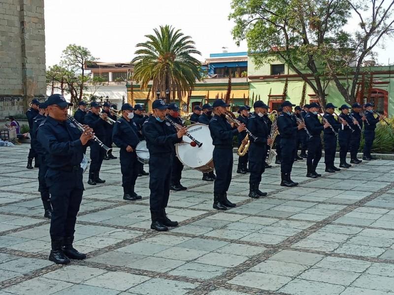 Secretaría de Seguridad Pública, con música celebra a los niños