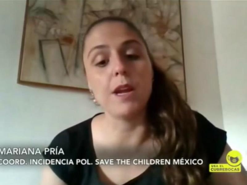 Seis de cada 10 niños crecen con violencia: Mariana Pría