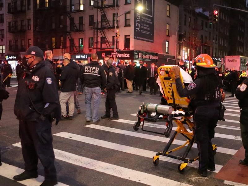 Seis lesionados de gravedad tras atropellamiento masivo en Nueva York