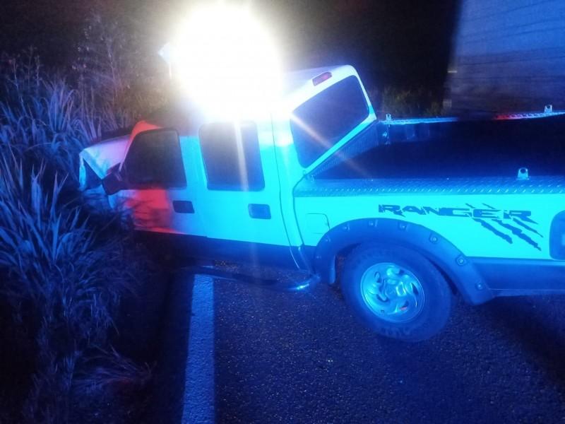 Seis personas lesionadas tras choque en Acaponeta