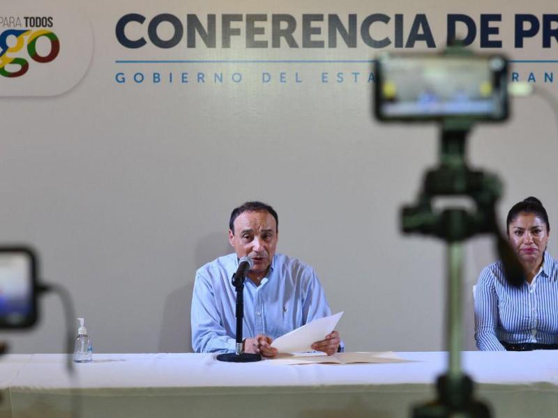 Seis positivos y 14 sospechosos de COVID-19 en DurangoDurango