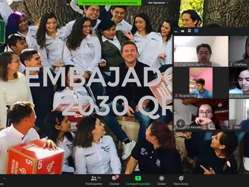 SEJUVE nombra a Segunda Generación de Embajadores 2030