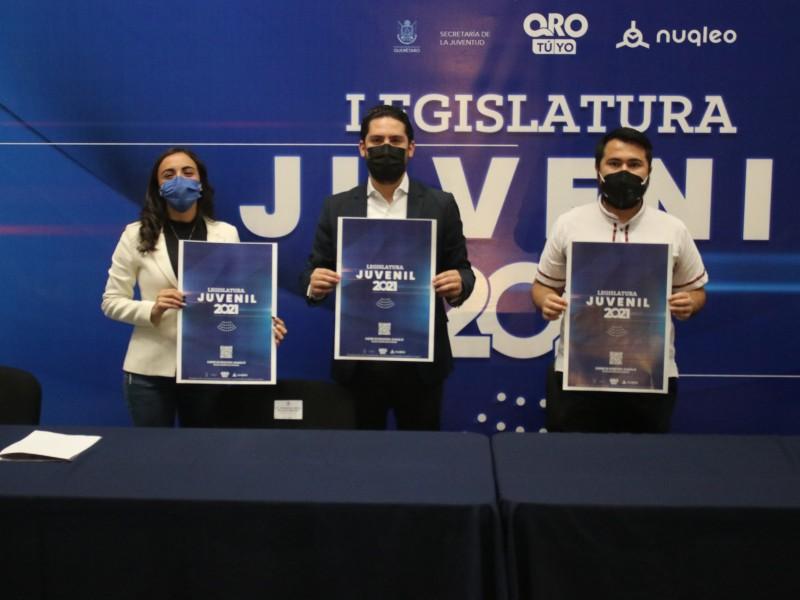 Sejuve Presenta Convocatoria Legislatura Juvenil