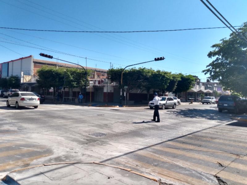 Semáforos para la calle Cuauhtémoc ya están en Culiacán