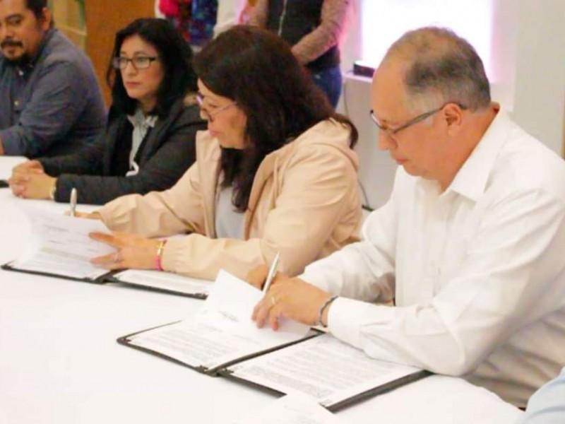 SEMAHN y alcaldía de SCLC firman convenio