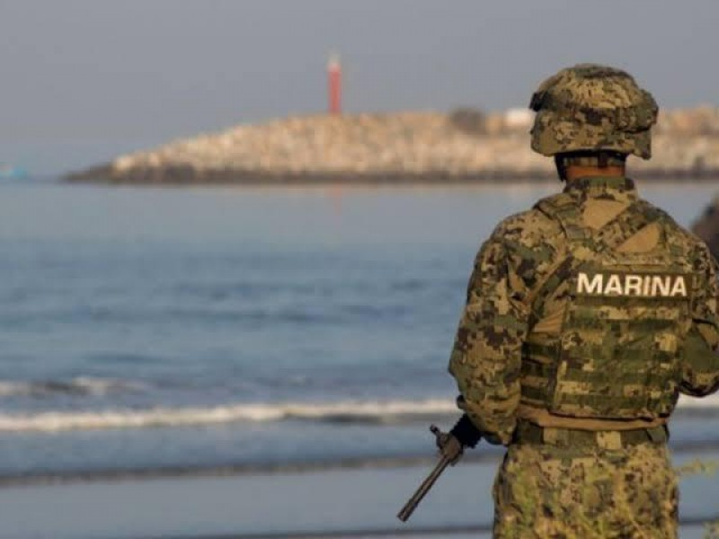 SEMAR detecta dos rutas marinas de droga.
