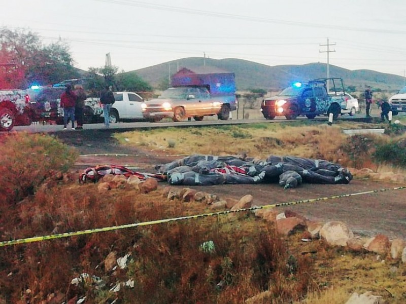 Semestre violento, homicidios incrementan un 37.5% en Zacatecas