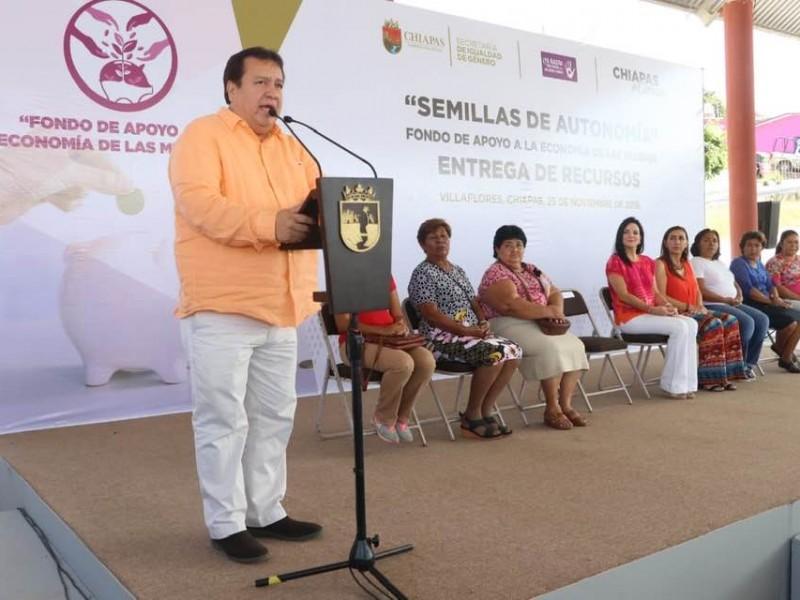 Semillas de autonomía para las mujeres en Villaflores